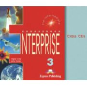 Enterprise 3, Pre-Intermediate. Class audio CDs, (Set 3 CD) Curs de limba engleza pentru clasa VII-a