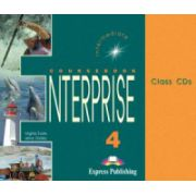 Enterprise 4, Intermediate, Class audio CDs. Set 3 CD. Curs de limba engleza clasa VIII-a