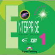 Enterprise 1 Beginner. DVD, (Curs de limba engleza pentru clasa V-a )