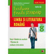 Evaluare finala standard-Limba si literatura romana a VIII-a (teste, modele de rezolvari)