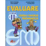 Evaluare pentru clasa a II-a (limba romana si matematica) - Maria Armangic