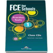 FCE for Schools Practice Tests 1 Class CD (5 CDs). CD-ul pentru clasa. Editie revizuita 2015