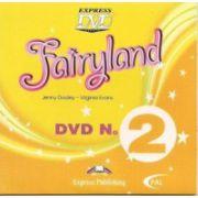 Fairyland 2 -DVD-Curs de limba engleza pentru clasa II-a, (Virginia Evans )