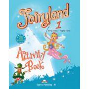 Fairyland 1, Activity Book-Caietul elevului pentru limba engleza, Clasa I-a (Virginia Evans )