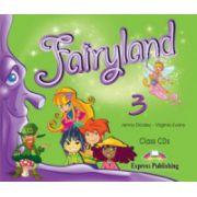 Fairyland 3, Audio CD (set 3 CD), Curs pentru limba engleza clasa III-a