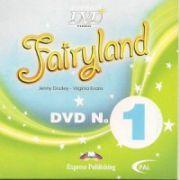 Fairyland 1 DVD-Curs de limba engleza pentru clasa I-a (Virginia Evans )