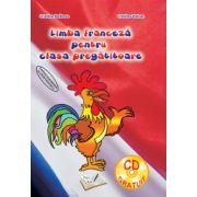 Caiet de lucru pentru clasa pregatitoare. Limba franceza. Contine CD gratuit - Cristina Bolbose
