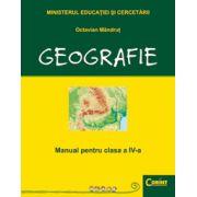 Geografie - Manual pentru clasa a IV-a (Octavian Mandrut)