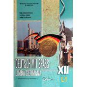 Deutsch Mit Spass, Manual de limba germana, clasa XII, Limba 1