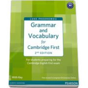 FCE-Grammar and Vocabulary for FCE, with Key and access to Longman Dictionaries Online
