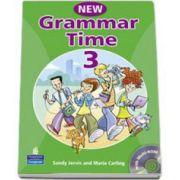 Grammar Time 3, Manual pentru limba engleza, Clasa V-a. Students Book, with multi-ROM