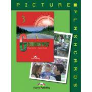 Grammarway 3, Picture flashcards, Curs de limba engleza clasa VII-a