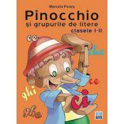 Pinocchio si grupurile de litere pentru clasele I-II