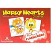 Happy Hearts, Starter, Picture flashcards (Curs de limba engleza pentru prescolari )