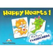 Happy Hearts 1, Picture flashcards. Curs de limba engleza pentru prescolari - Jenny Dooley