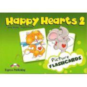Happy Hearts 2, Story Cards. Curs de limba engleza pentru prescolari - Jenny Dooley