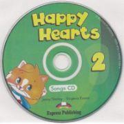 Happy Hearts 2, Songs CD, (Curs de limba engleza pentru prescolari )