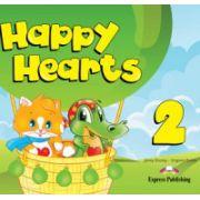 Happy Hearts 2, Pupils Book, Manualul elevului. Fise de lucru Figurine Abtibilduri - Jenny Dooley
