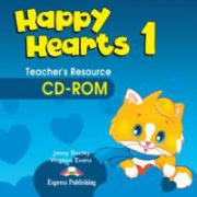 Happy Hearts 1, Teachers CD-ROM. Curs de limba engleza pentru prescolari - Jenny Dooley, Virginia Evans