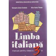 Manual pentru limba Italiana- clasa a III-a(Georgeta-Liliana Carabela)