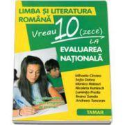 Limba si literatura romana. Vreau 10 (zece) la Evaluarea Nationala (clasa a VIII-a) - Mihaela Daniela Cristea