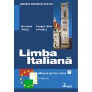 Limba italiana, manual pentru clasa a IX-a, Limba moderna 3 (Alice-Ileana Tanase)