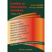 Limba si literatura romana - indrumator pentru clasa a X-a