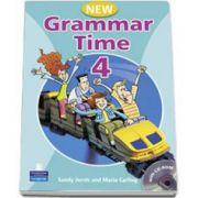 Grammar Time 4, Manual pentru limba engleza, Clasa VI-a ( Students Book, with multi-ROM )