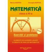 Matematica. Culegere pentru clasa a XI-a - Marius Burtea