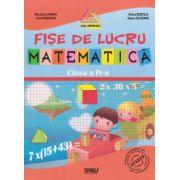 Matematica - fise de lucru pentru clasa a IV-a