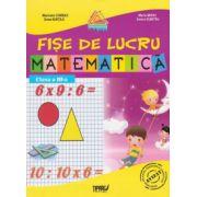 Matematica - fise de lucru pentru clasa a III-a