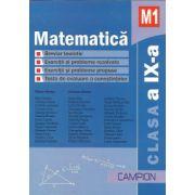 Matematica M1- Culegere de exercitii si probleme pentru clasa a IX-a
