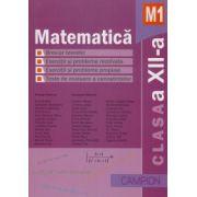 Matematica M1- Culegere de probleme pentru clasa a XII-a (Marius Burtea)
