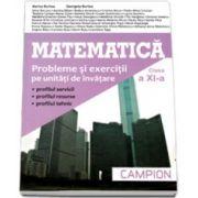 Matematica M2-Culegere de probleme pentru clasa a XI-a;(Marius Burtea)