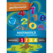 Matematica - memorator pentru clasele I-IV