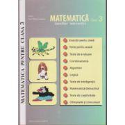 Matematica pentru clasa a III-a -auxiliar interactiv