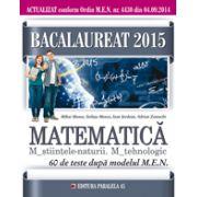 Matematica M2. 60 de teste dupa modelul MEN. Bacalaureat 2015 - Ed. Paralela 45