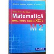 Manual Matematica M2 pentru clasa a XII-a