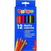 Creioane colorate Morocolor Primo, 12 culori/cutie