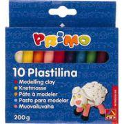 Plastilina Morocolor, 10 culori, 20 gr/culoare (MC15567)
