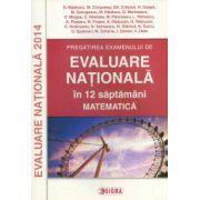 Pregatirea examenului de Evaluare Nationala, 2014 in 12 de saptamani -Matematica. (Ovidiu Badescu)