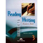 Reading and Writing, Targets 3, Student's Book, ( Curs de limba engleza pentru clasa VII-a ) Virginia Evans