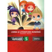 Limba si literatura romana - caiet de aplicatii pentru clasa a V-a