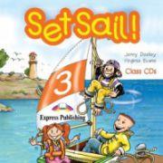 Set Sail 3. Audio CD (Set 2 CD), Curs pentru limba engleza, clasa III-a