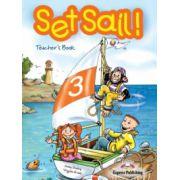 Set Sail 3, Teacher's Book,( Manualul profesorului pentru clasa III-a )