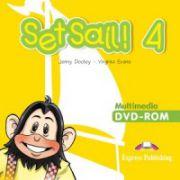 Set Sail 4- Multimedia DVD-Rom, Curs pentru limba engleza clasa IV-a