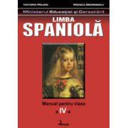 Spaniola. Manual pentru clasa a IV-a - Victoria Poloni