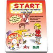 START- Matematica si explorarea mediului, pentru clasa I - Semestrul I (Roxana Gavrila)