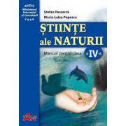 Stiinte ale naturii - Manual pentru clasa a IV-a (Stefan Pacearca)