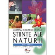 Stiinte ale naturii. Manual pentru clasa a III-a - Anina Badescu